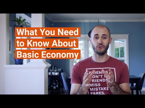 Travel Terms You Need To Know: Basic Economy