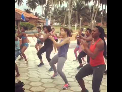 Kukuwa African Dance Workout in Ghana