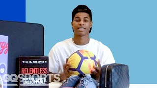 10 Things Marcus Rashford Can't Live Without | GQ Sports