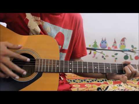 Jay Jaykara - Bahubali 2 - Guitar cover lesson chords easy Version
