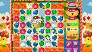 как пройти 250 уровень в игре долина сладостей