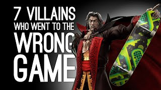 7 Villains Who Went to the Wrong Game by Accident