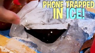 THE PHONE TRAPPED IN ICE! Unboxing Legend of Solgard!