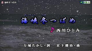 《新曲》西川ひとみ【海峡冬つばめ】カラオケ