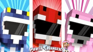DON'T CHOSE the WRONG POWER RANGER ! | Minecraft Little Kelly