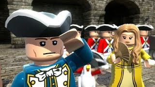 LEGO Pirates of the Caribbean - 100% Guide #1 - Port Royal (All Collectibles)