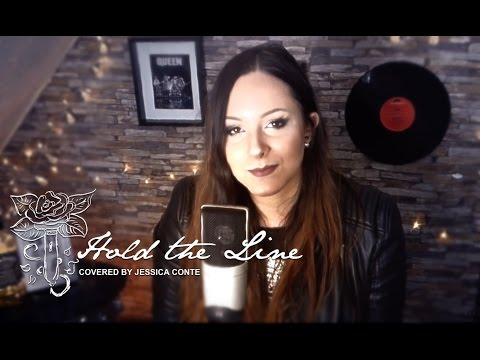 Hold the Line - Toto - Female Cover by Jessica Conte