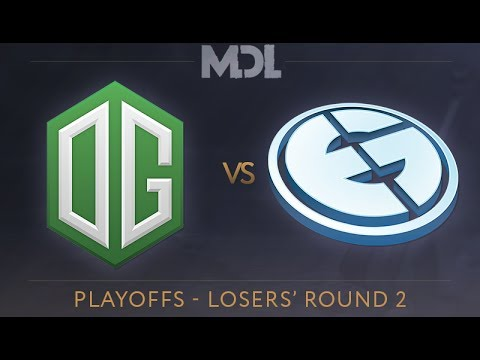 OG vs EG Game 1 - MDL 2017 Playoffs: Losers' Round 2 - @LD @Merlini @Luminius