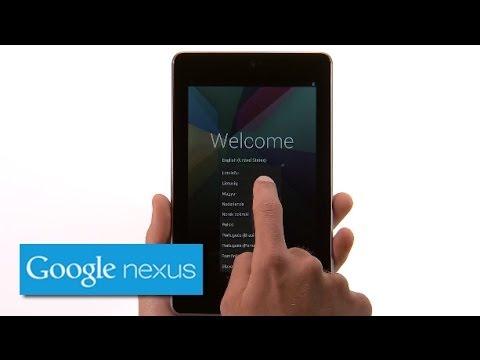 Nexus 7 (2012) - Getting Started