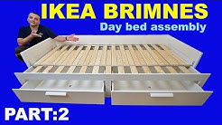 IKEA BRIMNES Day bed assembly instructions / PART 2