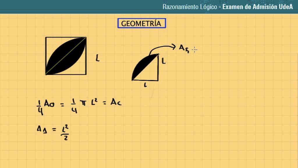 Lección 109: Cálculo de áreas sombreadas. Parte 3 - YouTube