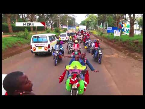 Jubilee supporters celebrate as they call for cessation of political hostilities