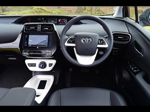 2017 Toyota Prius Interior Design And Technology