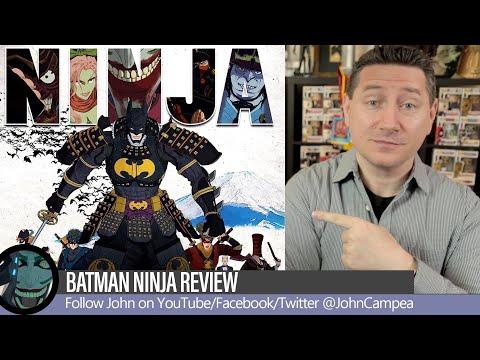 Batman Ninja Movie Review (2018)