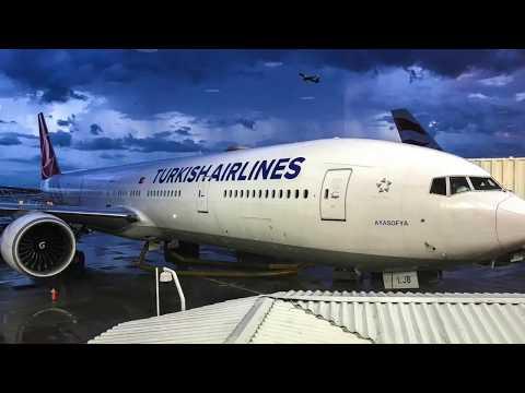 Turkish Airlines Flight# TK6 ORD-IST B-777-300: Dr. I's Maldivian Adventure (part 1 Of 9).