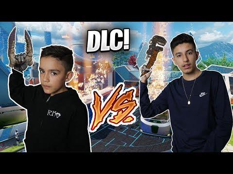 Black Ops 3 DLC Weapon 1v1 Against Little Brother! (Rage)