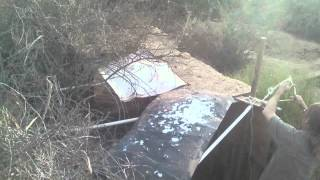 Airsoft Fort Left In Ruins