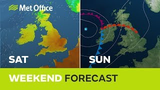 Weekend weather - hot sunshine, then thunderstorms 30/05/19