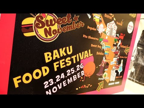 Baku Food Street Festival 2017