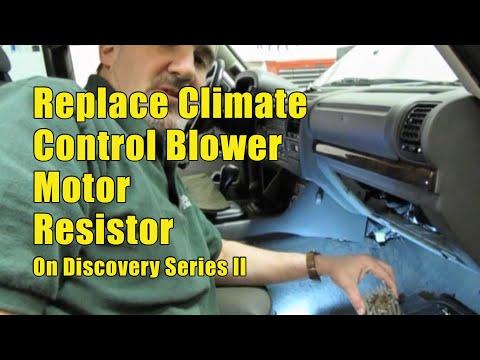 Atlantic British Presents Replace Blower Motor Resistor