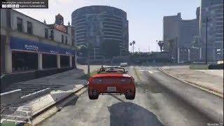 GTA 5 İLK YAYIN- lüks araba ile heyecan ...