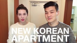 New Korean Apartment Tour & Why I Came to Korea 국제커플의 새집 이사 & 한국에 온 이유 (자막 CC)