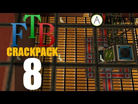 CrackPack - Modded Minecraft - FTB - Ep8 - Safari Nets