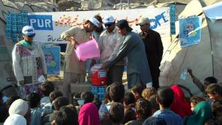 Safe Drinking Water (PuR) for Flood Affectees in Pakistan