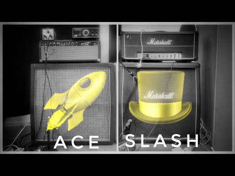 Playing Ace's and Slash's GUITAR RIGS at the SAME TIME!