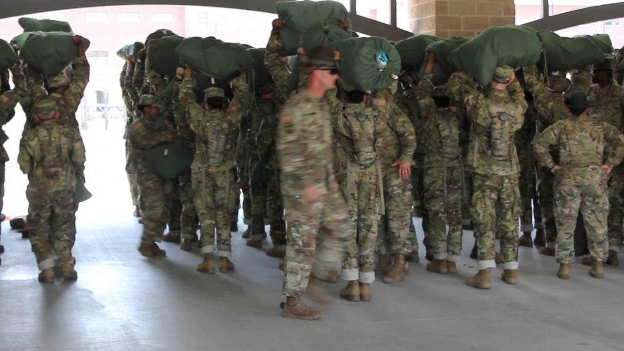 Boot camp training and humiliation - 3 6