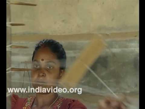 Weavers of Balaramapuram Village