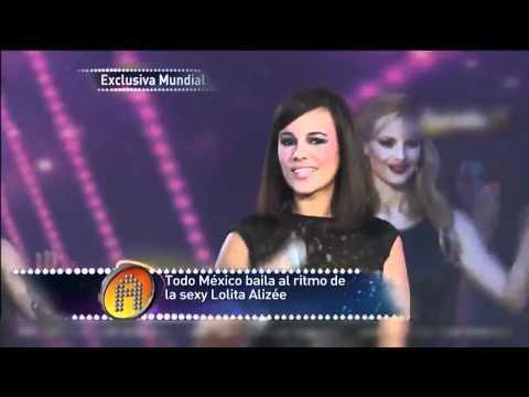 """Alizée En """"La Academia"""" En Vivo - J'en Ai Marre 9/10/11 HD 720p"""