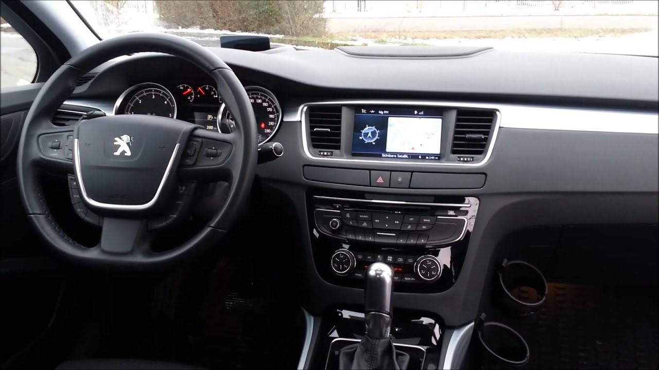 Peugeot 508 gt hdi fap interieur modell 2011 for Interieur 508 gt