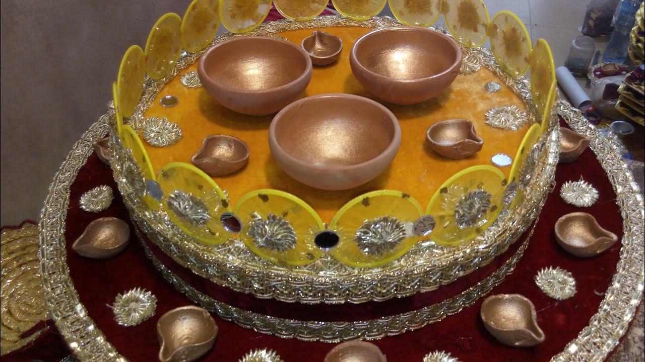Diy Wedding Wedding Tray Pot Designs For Indian Wedding Pot