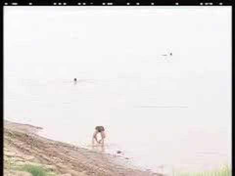 bãi tắm tiên giữa sông Hồng