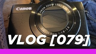 Canon G7X Test Footage in Low Light: VLOG79