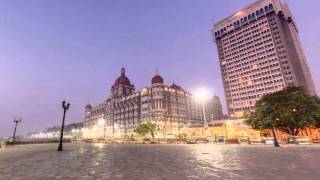 Gateway of India, Taj Mahal Palace Hotel, Mumbai, India