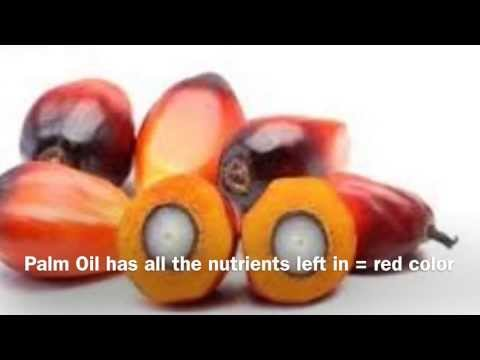 Red Palm Oil   Nutrition For Your Hair