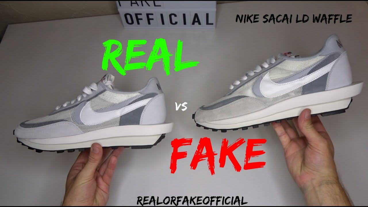NIKE SACAI LDWAFFLE REAL VS FAKE