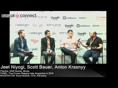 Five Forces Shaping User Acquisition in 2016 | PANEL