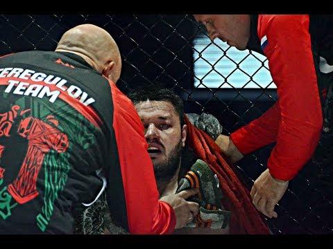 Терегулов сдал бой хорвату  Срджан Марович вбивал его в канвас