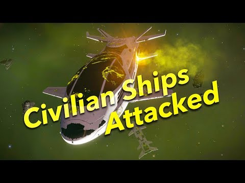 Thargoids Attacked Civilian Ships for 1st Time (Cinematic) | Elite Dangerous