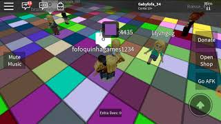 Oie Oie Tenders Tutu Good with you today I came to bring my first video ❤ (ROBLOX)
