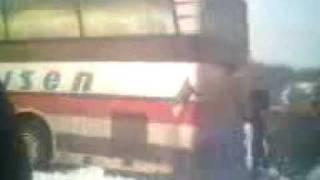 autobus wkopany na marszałkach część.2