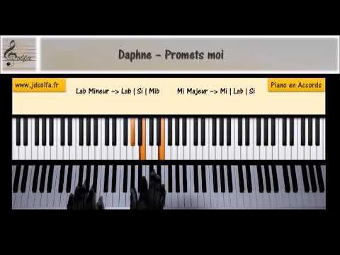 Daphne - Promets moi [JDS Piano Tutorial] Niveau 1