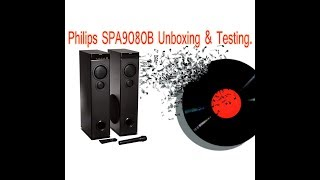 Philips SPA9080B Unboxing amp Testing