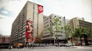 shepard fairey obey rise above rebel paris juin 2012