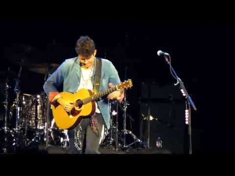 John Mayer Neon Acoustic Chula Vista 10/04/2013 With Wicked Solo At Start