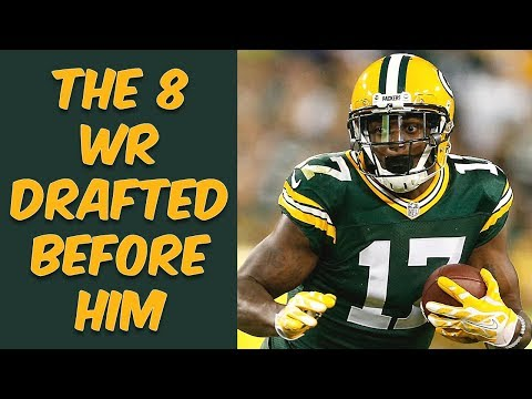 Who Were The 8 Wide Receivers Drafted Before Davante Adams? Where Are They Now?