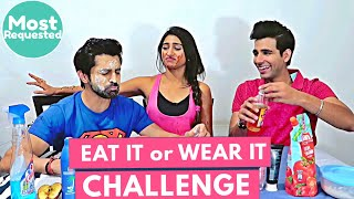 Eat it or Wear it Challenge | Rimorav Vlogs